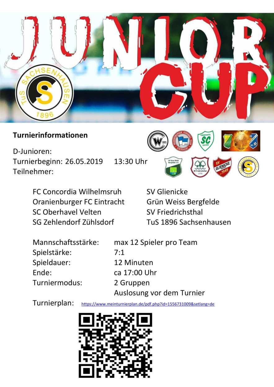 Turnier Informationen D-Junioren-1