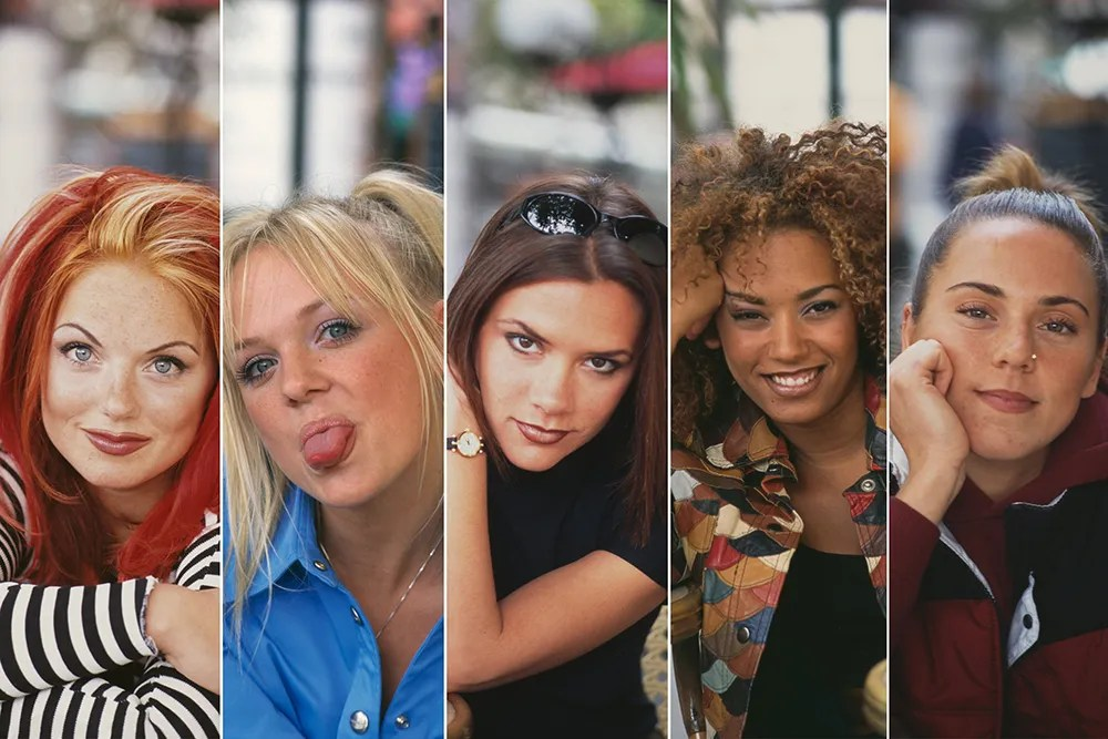 look de los 90 de la Spice Girls