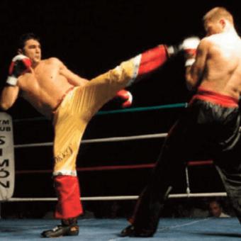 Entrenar Kick Boxing de karate