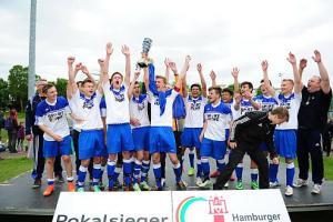 Pokalsieger der unteren A-Junioren Berne 2. A - Foto: hfv.de