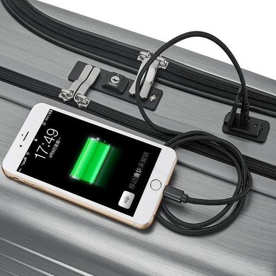 Mejores Maletas de Cabina con USB   Maleta de Cabina con Carga USB