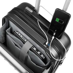 ✈ Maleta de Cabina SULEMA con 【Carga USB ⚡】 para Equipaje de Viaje