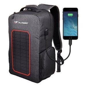 Mochila ALLPOWERS ▷ 【con Panel Solar 🔆 y Puerto USB ⚡】 (3)