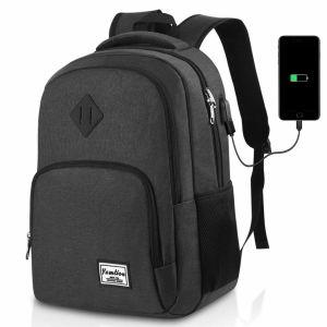 Mochila Escolar YAMTION ▷ con Puerto USB ⚡ Portátil 15.6 pulgadas