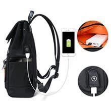 Mochila Antirrobo con USB para Hombre y Mujer | Mochila Impermeable Casual 7