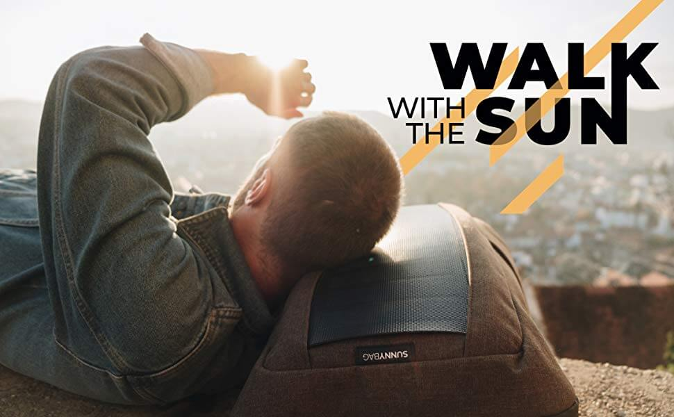 Mochila Solar con Carga USB SUNNYBAG Iconic de 7W. 9