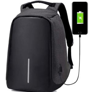 Mochila Antirrobo con USB para Portátil Impermeable
