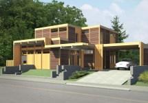Modern Cedar Homes Built Lindal Building Systems