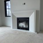 Modern Stone Fireplace Design by Tuscan Stoneworx Edmonton Alberta