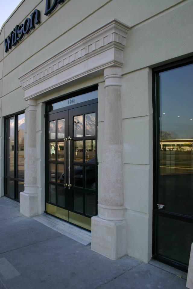 Tuscan Stonewrox Canada Commercial Stone Entrance Edmonton Alberta