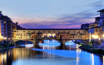 Although we didn't visit Florence on this trip, we passed nearby and a gratuitous Ponte Vecchio pic is always worth including