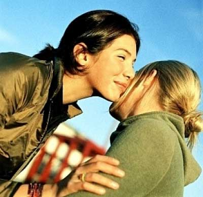 Image result for kiss on the cheek greeting