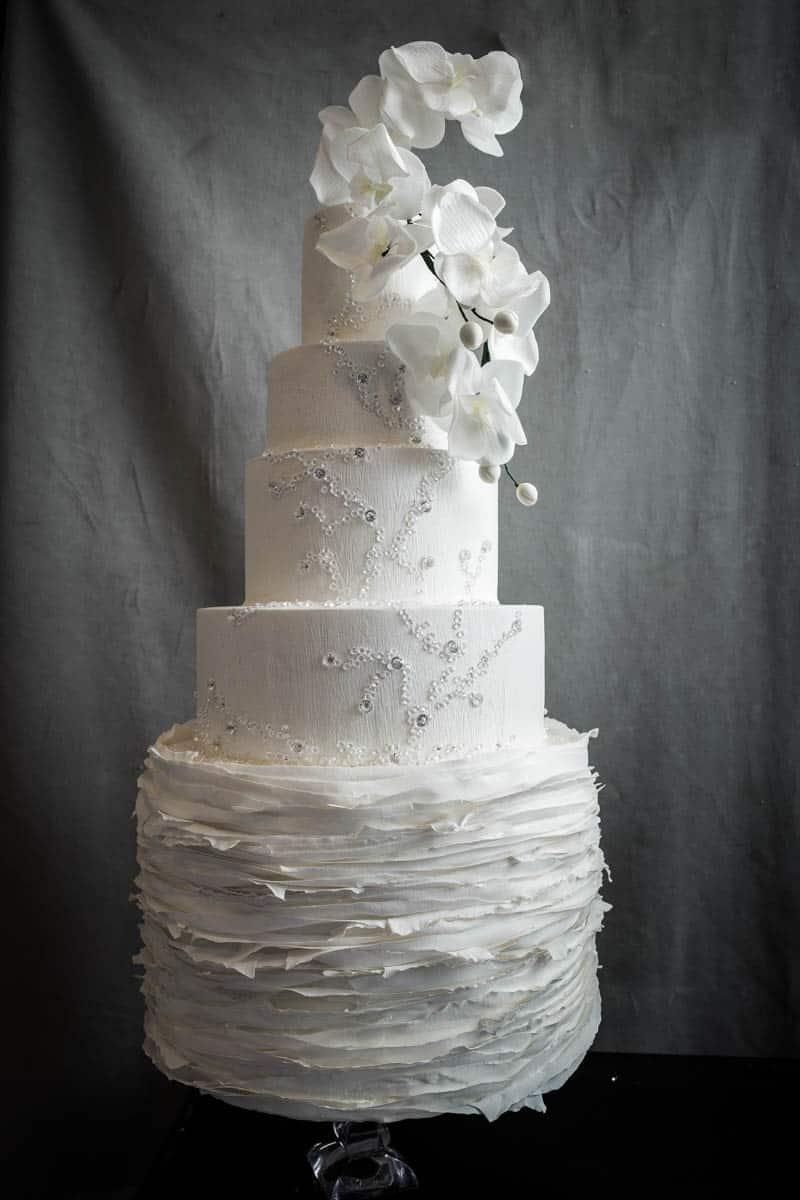 Italys Most Stunning White Wedding Cake