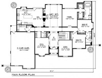 Country French Floor Plan | Tuscany Homes