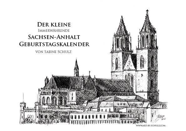 Sachsen-Anhalt Geburtstags Kalender, Deckblatt