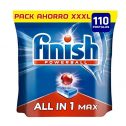 Finish Powerball All in 1 Max - Pastillas para el lavavajillas todo...