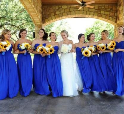 Largos-de-gasa-abrir-Backless-Sweetheart-mujer-vestidos-fiesta-para-bodas-azul-real-vestidos-dama-traje