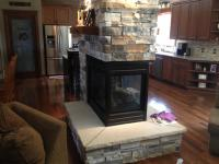 Center Fireplace In New Home | Tuscarawas Construction LTD