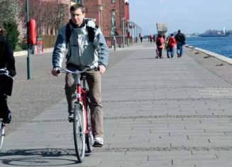 Copenhague es una ciudad ideal para ir en bicicleta