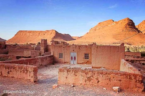 Pueblo típico en la ruta de las 1.000 kasbahs