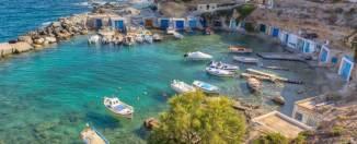Milos pertenece al archipiélago de las Cycladas