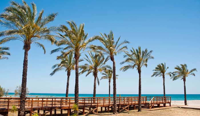 Benicàssim tiene cinco playas © Miguel Ángel Muñoz Romero
