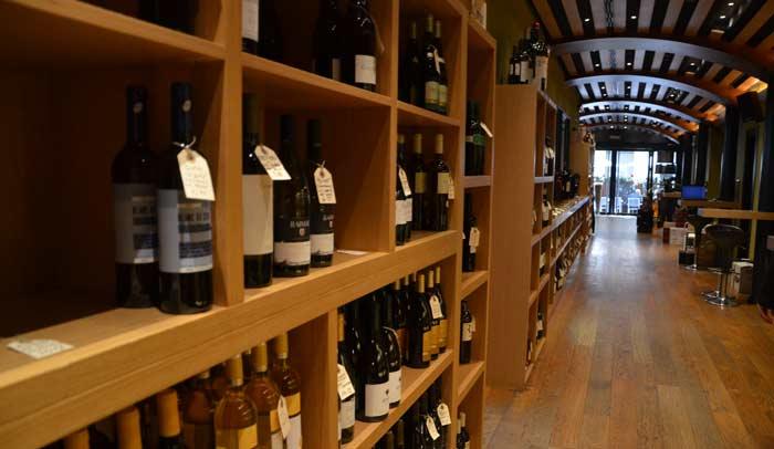 Vinya Roel, enoteca-restaurante de Barcelona