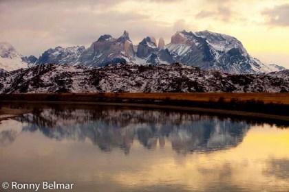 El magnifico paisaje de las Torres del Paine en invierno, sin la saturación turística del verano