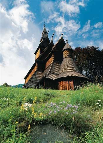 Iglesia de madera Hopperstad, cerca de Vik CH - visitnorway.com