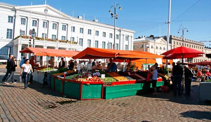 Kauppatori (Plaza del Mercado)