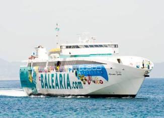 Baleària consolida la línea directa diaria Dénia-Formentera
