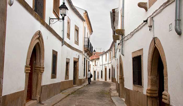 Barrio judío de Valencia de Alcántara. © Turismo de Extremadura.