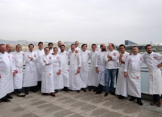 Cocineros integrantes del Grupo Nove