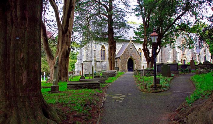 Cementerio de Laugharne