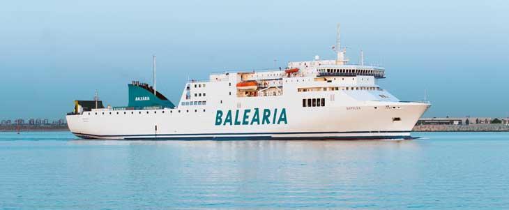 Ferry Nápoles Baleària