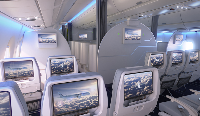 Clase Turista Airbus A350 XWB