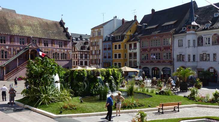 Plaza de la Réunion (OTC Mulhouse et sa région)
