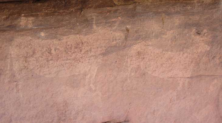 Restos rupestres del Toro del Navazo
