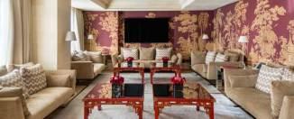 Salón de la Majestic Royal Penthouse