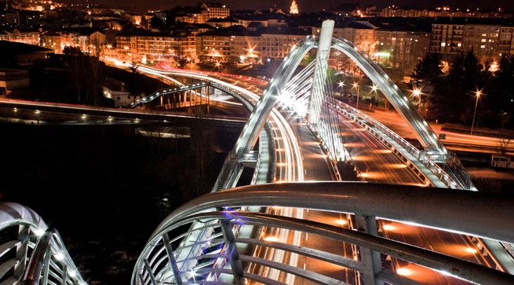 Puente Nuevo de Ourense. Foto Turismo de Ourense.