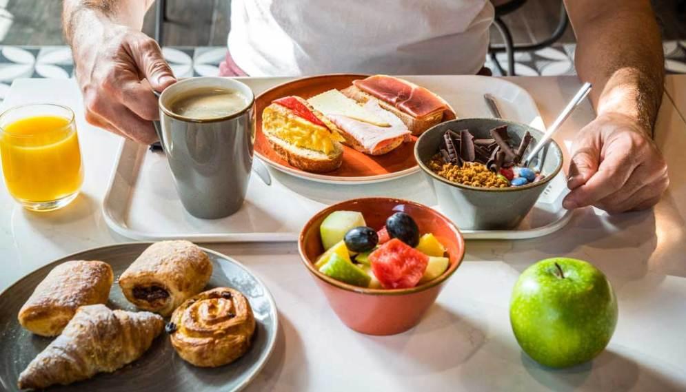 El desayuno de ibis Styles Barcelona es más que recomedable
