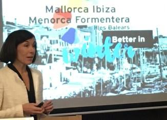 Pilar Carbonell Raya, Directora General de Turismo de las Islas Baleares.