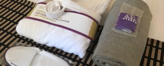 Detalle de bienvenida en el Hotel Mercure Atenea Aventura