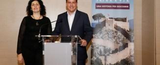 Izquierda, Mariola Sanchis, concejala de Seguridad Ciudadana y Turismo. Derecha, Roger Cerdà, alcalde de Xàtiva.