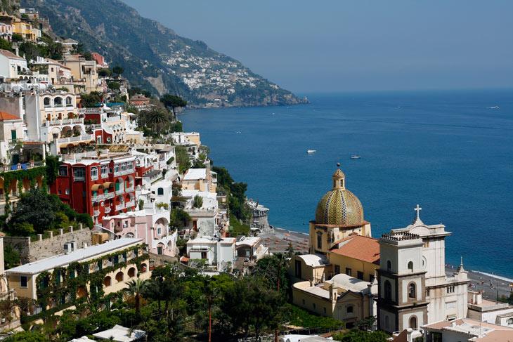 Positano es una de las ciudades más bellas de Italia
