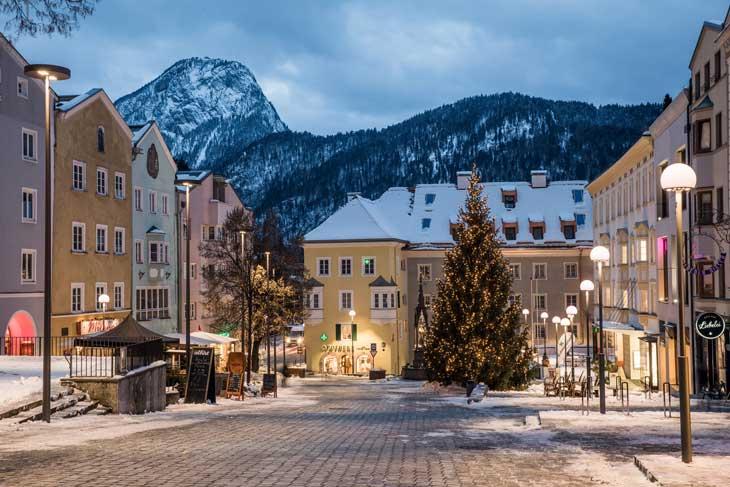 Kufstein, destino para disfrutar del esquí y de la nieve