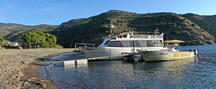 Barco de Cala Jóncols