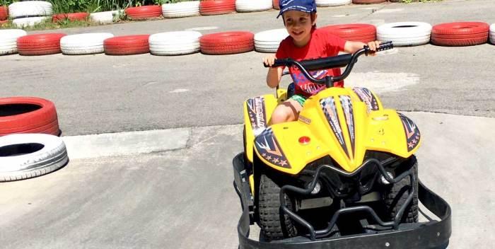 Juan Jr pasándoselo en grande en Lloret de Mar