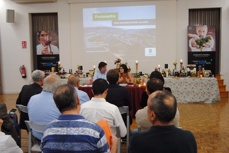 Pontevedra presenta en el Centro Gallego de Barcelona la tercera edición de Etiqueta Negra