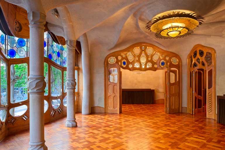 Salón principal de Casa Batlló